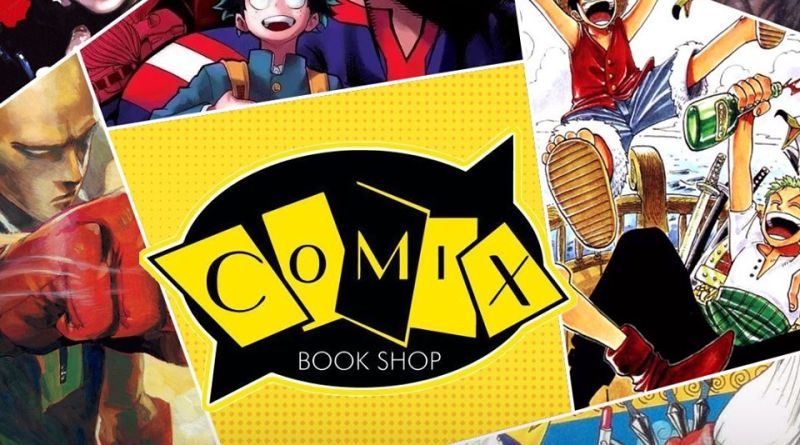 Comix Book Shop confirmada no Ressaca Friends