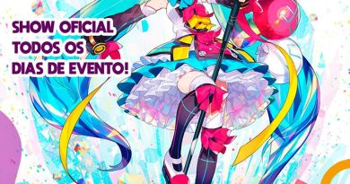 Hatsune Miku – Show oficial todos os dias do Ressaca Friends