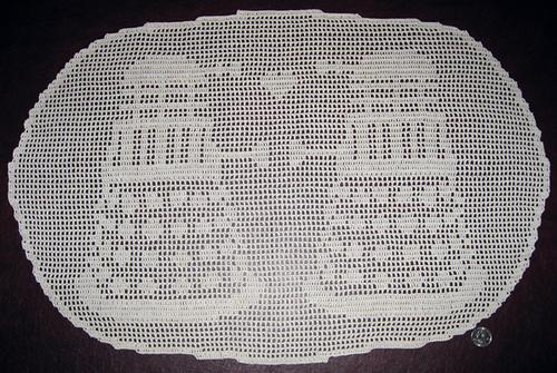 Dalek Doily Pattern by Meredee on Raverly