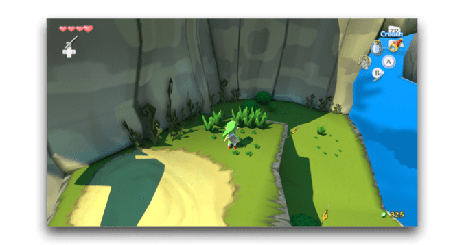 wind waker hd high resolution shadows