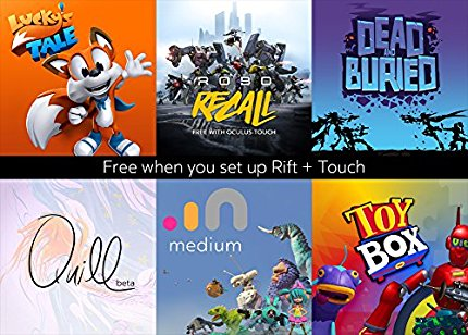 Oculus Included Games