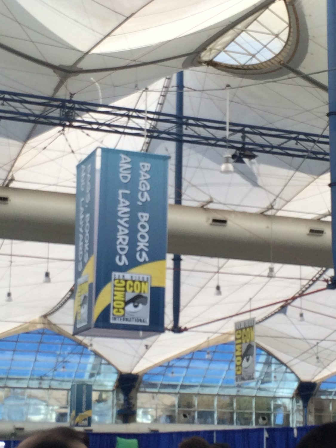 San Diego Comic Con 2016 Bag and lanyard pickup