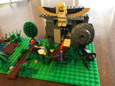 LEGO Challenge: Build an Easter Scene 2020