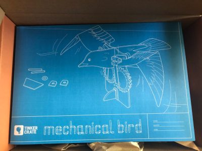 Kiwico Tinker Crate: Mechanical Bird