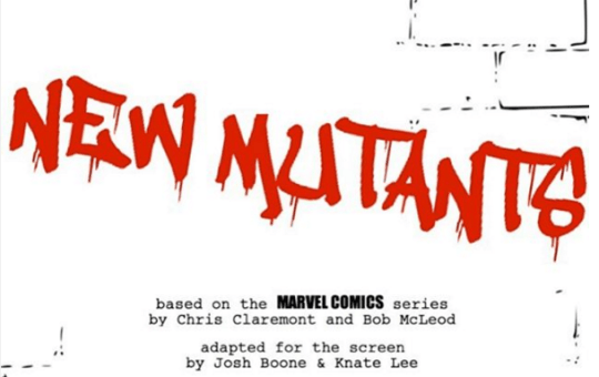 New Mutants Script Image