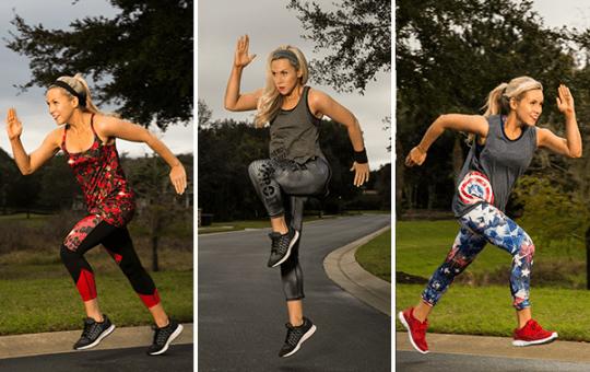 train like Marvel's Super Heroes Her Universe Ashley Eckstein