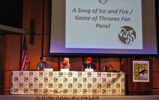 Secrets of Comic-Con ASOIAF Game of Thrones