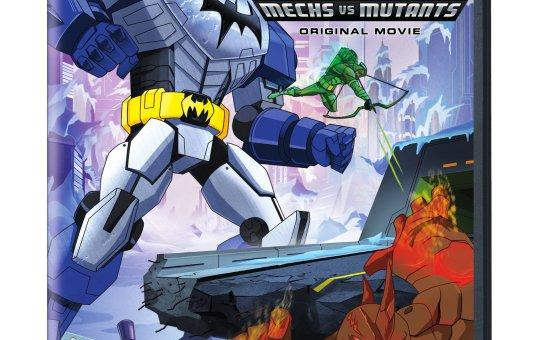 Mechs vs Mutants Batman Unlimited DVD