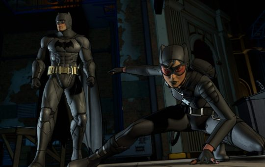 Batman Telltale Series Episode 2 Children of Arkham Catwoman Batman