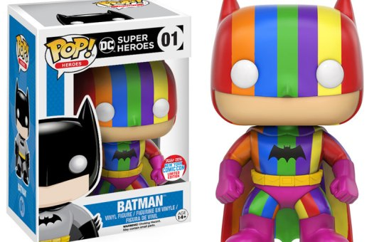rainbow batman funk pop new york comic con 2016