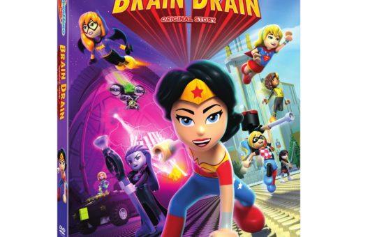 LEGO DC Super Hero Girls Brain Drain Digital HD DVD release date