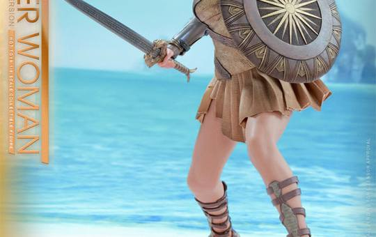 DC Comics Wonder Woman Training Armor Hot Toys Figure