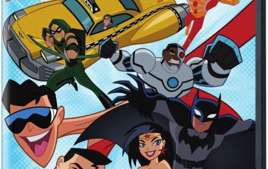Justice League Action Season 1 Part 1 DVD release date