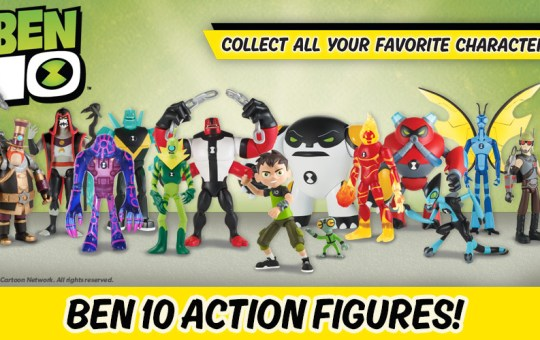 Cartoon Network Ben 10 Action Figures