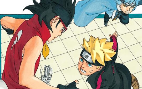 boruto naruto next generations manga issue 18 hand review