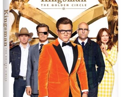Kingsman The Golden Circle 4K Blu-ray DVD Release Fox Kingsman 3