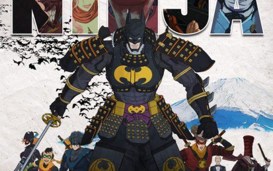 Batman Ninja anime poster Warner Bros DC Japan