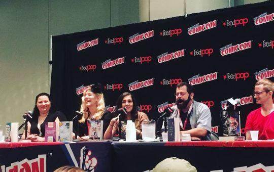 Danika Stone at New York Comic Con