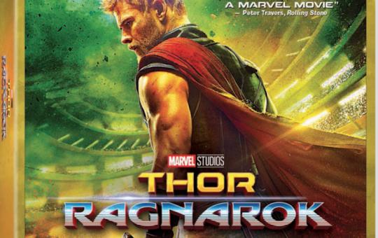 Thor Ragnarok 4K Ultra HD Blu ray DVD release Marvel