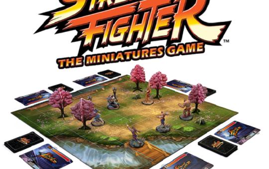 Street Fighter board game kickstarter