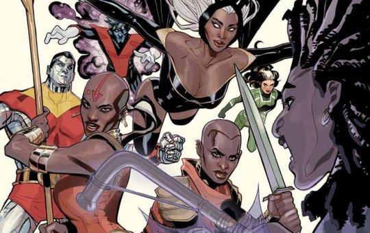 X-Men Wakanda Forever Comic Book Storm Dora Milaje Okoye Alexandra Shipp Disney-Fox