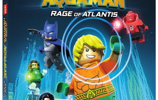 Lego DC Comics Super Heroes Aquaman Rage of Atlantis DVD Blu-ray