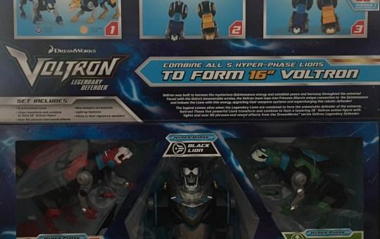Legendary Defender Hyper-Phase Voltron 5-Piece Gift Set Action Figure – SDCC 2018 Previews Exclusive