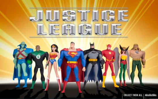 Justice League action figures DC Collectibles