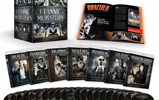 UNIVERSAL CLASSIC MONSTERS: COMPLETE 30-FILM COLLECTION Blu-ray release