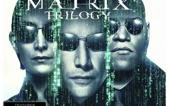 The Matrix Trilogy 4K Ultra HD Blu-ray Combo Pack Warner Bros. Home Entertainment