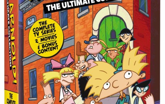Hey Arnold! The Ultimate Collection Release Nickelodeon