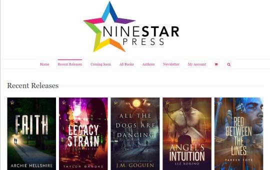 NineStar Press Queer book releases October 15 2018