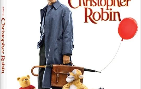 Christopher Robin Blu-ray DVD Disney November release