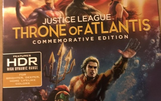 Justice League Throne of Atlantis Commemorative Edition 4K Ultra HD Blu-ray review