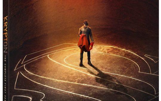 Krypton Season 1 Blu-ray DVD release Syfy Krypton Season one