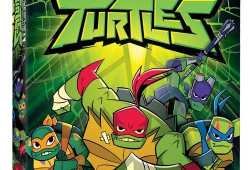 Rise of the teenage mutant ninja Turtles DVD release