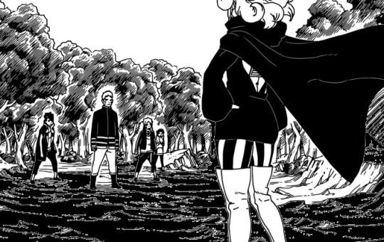 boruto manga chapter 31 monster