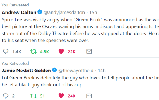 Oscars 2019 Green Book