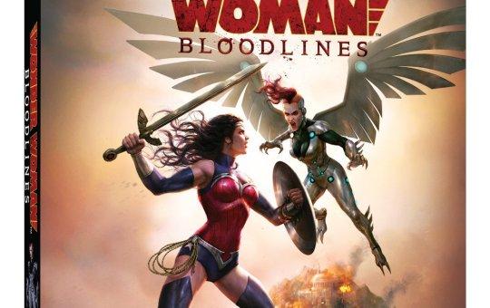 wonder woman bloodlines blu-ray