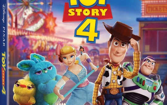 Toy Story 4 Blu-ray Digital home release