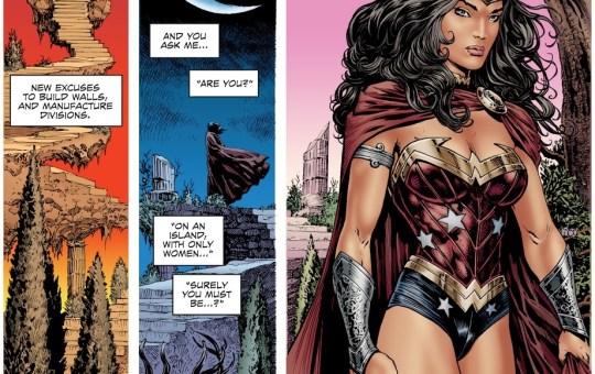 Wonder Woman Diana Prince bisexual