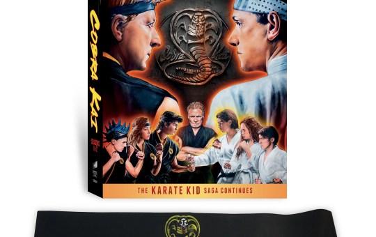 Cobra Kai Season 1 and 2 DVD