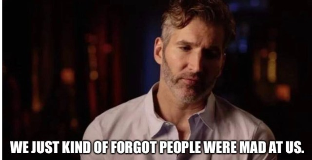 David Benioff, D. B. Weiss, and the Terrible, Horrible, Very Bad Week - The  Geekiary