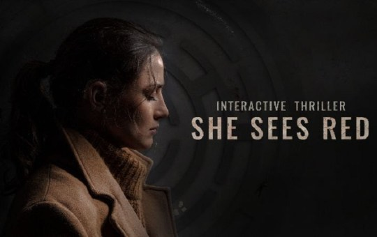 She Sees Red indie interactive game mobile