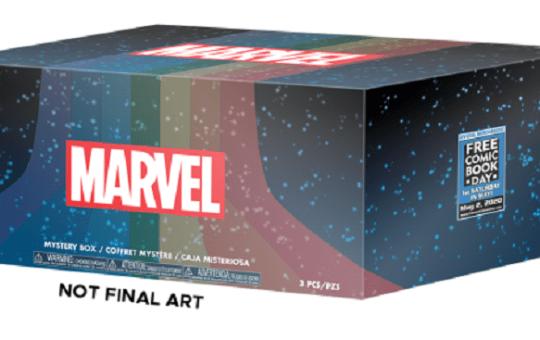 Funko Free Comic Book Day box 2020