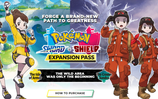Pokemon Sword and Shield Expansion Pass DLC