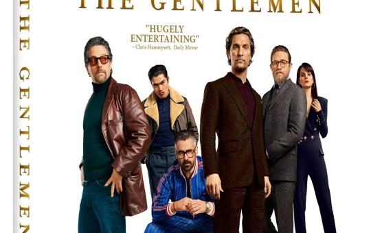 The Gentlemen Blu-ray DVD release