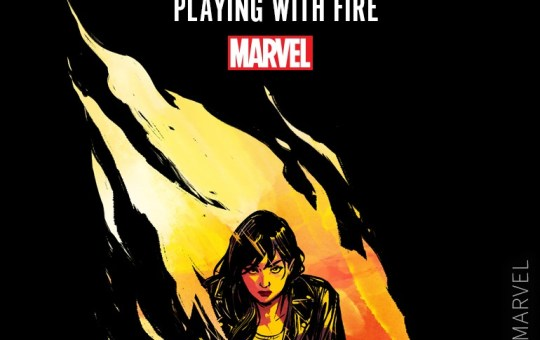 Jessica Jones Playing With Fire Serial Box
