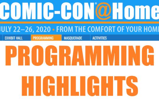 SDCC 2020 Panel Highlights