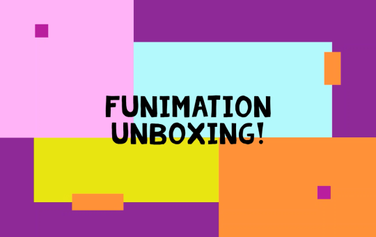 Funimation Shop unboxing